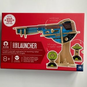 NEW! Rubber Band Launcher